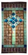 Cross On The Wall Beach Sheet