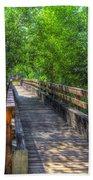 Cross Over The Bridge - Sedona Arizona Beach Towel