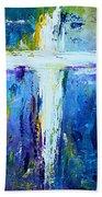 Cross - Painting #4 Beach Towel