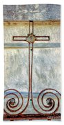Crosses Voided - Artistic Beach Towel