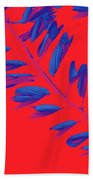 Crossing Branches 2 Beach Towel