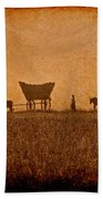 Crossing Kansas Beach Towel