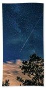 Crossing The Milky Way Beach Towel