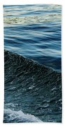 Crossing Waves Beach Towel