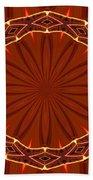 Crown Of Thorns Beach Towel
