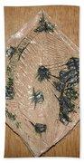 Crowned - Tile Beach Towel