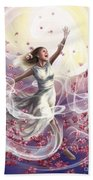 Crowned With Glory... Dancing In Glory Beach Towel by Tamer and Cindy Elsharouni
