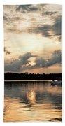 Cruising, Eagle Lake, Almaguin Highlands, Ontario Beach Towel