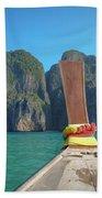 Cruising Maya Bay Beach Towel