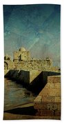 Crusaders Sea Castle Beach Towel