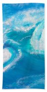 Crushing Wave Beach Towel
