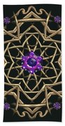 Crystal 19 Beach Towel