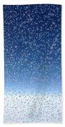 Crystal Blue Beach Towel
