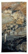 Crystal Cave Marble Beach Towel