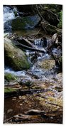 Crystal Clear Creek Beach Towel