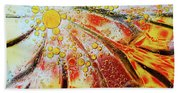 Crystal Sunburst Beach Towel