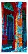 Cuba Architecture Beach Towel