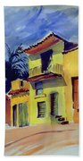 Cuban Architecture Beach Sheet