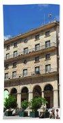 Cuban Building. Beach Towel