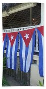 Cuban Flags Beach Towel