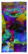 Cubed Fractals Beach Towel