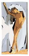 Cubism Series Xvi Beach Towel