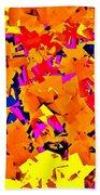 Cubist Tesseract Beach Towel