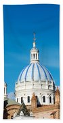 Cuenca Cathedral Domes Beach Towel