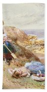 Cullercoats Beach Towel