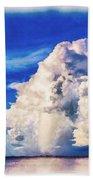Cumulonimbu Over Tampa Bay Beach Towel