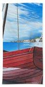 Cupecoy Beach Beach Towel