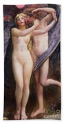 Cupid And Psyche Beach Towel