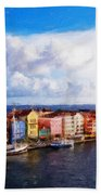 Curacao Oil Beach Towel