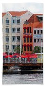 Curacao Willemstad Panorama Beach Towel