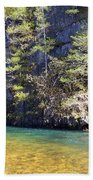 Current River 7 Beach Towel by Marty Koch