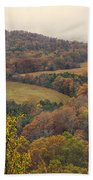 Current River Valley Near Acers Ferry Mo Dsc09419 Beach Towel