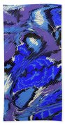 Currents And Tides  Beach Towel