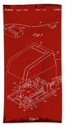 Cursor Control Device Patent Drawing 1n Beach Towel