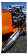 Custom Hot Rod Engine 2 Beach Towel
