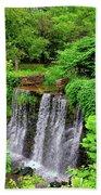 Cuttalossa Falls New Hope Pa Beach Towel