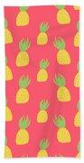 Cute Pineapples Beach Towel