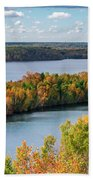Cuyuna Country State Recreation Area - Autumn #1 Beach Towel