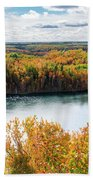 Cuyuna Country State Recreation Area - Autumn #2 Beach Towel