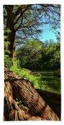 Cypress Bend Park In New Braunfels Beach Towel