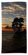 Cypress Bend Resort Sunset Beach Towel
