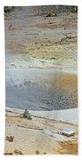 D01945 Sulpher Cauldron Area Beach Towel