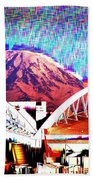 Da Mountain And Stadia 2 Beach Towel