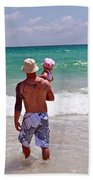 Dad And Daughter Beach Towel