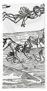 Daedalus And Icarus Beach Towel