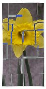 Daffodil 1 Beach Towel